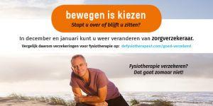 Ook in 2018 goed verzekeren voor fysiotherapie!